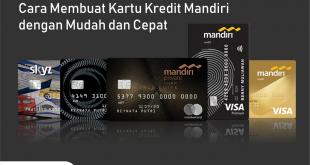 cara membuat kartu kredit mandiri