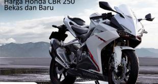 Harga Honda CBR 250 Bekas